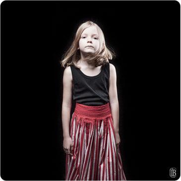 Portraits d'une enfant