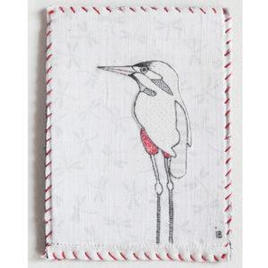 Martine-pêcheuse - 8cm x 11cm - 60€