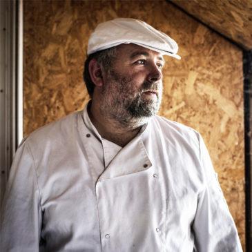 Portrait d'un artisan boulanger
